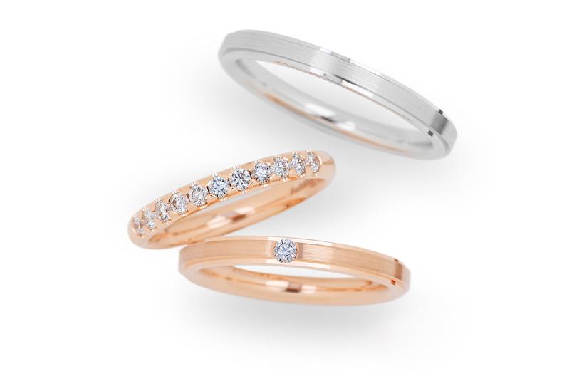 札幌クライスの結婚指輪CHRISTIAN BAUER