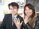 札幌結婚指輪 クライスのお客様