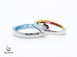 前田様 結婚指輪