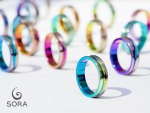 札幌結婚指輪クライス SORAカラー