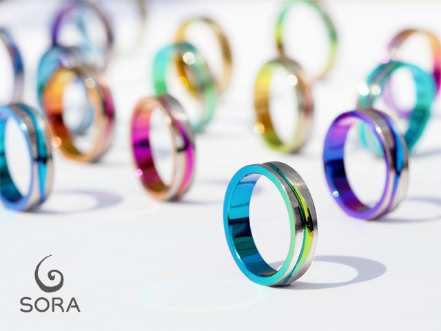 札幌結婚指輪クライス カラー 発色