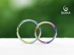 札幌結婚指輪クライス SORAトリオレ