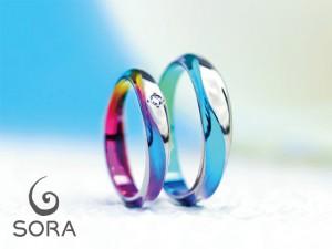 札幌結婚指輪クライス ガンガストレート
