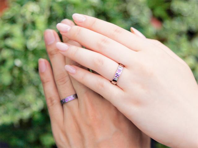 札幌結婚指輪クライス 金属アレルギー