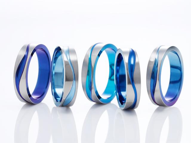 札幌結婚指輪クライス SORAサムシングブルー