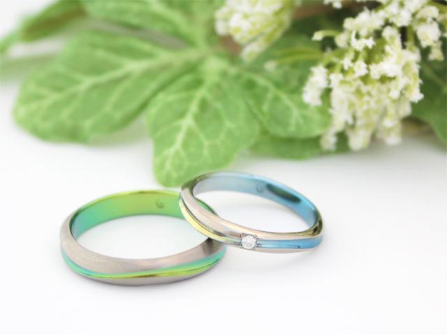 結婚指輪クライス SORAクリーク