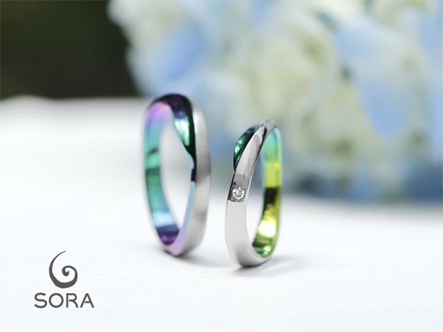 札幌結婚指輪クライス SORAスウェル
