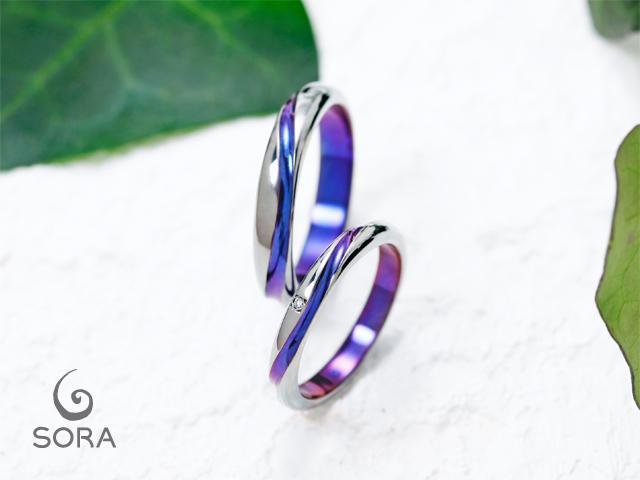 札幌結婚指輪クライス SORAレイストレート
