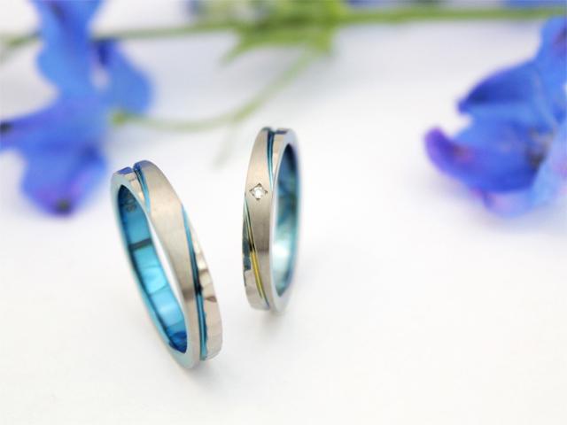 結婚指輪クライス SORAアリー