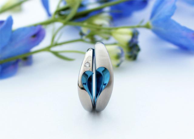 札幌結婚指輪クライス SORAリップル