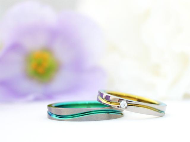 札幌結婚指輪クライス SORAパルス