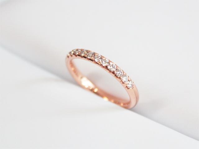 札幌結婚指輪クライス ハーフエタニティリング
