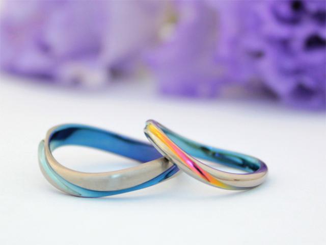 札幌結婚指輪クライス SORAレイ