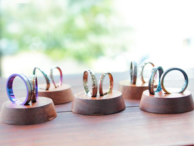 札幌結婚指輪クライス SORAツチメ