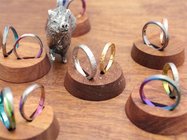 札幌結婚指輪クライス イノシシリング